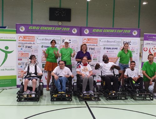 Geneva's Cup PowerChair football